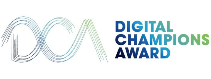 Logo des Digital Champions Award