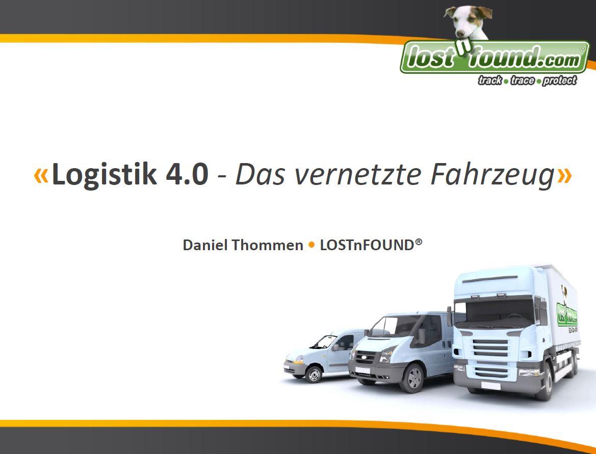 Logistik 4.0 - Das vernetzte Fahrzeug