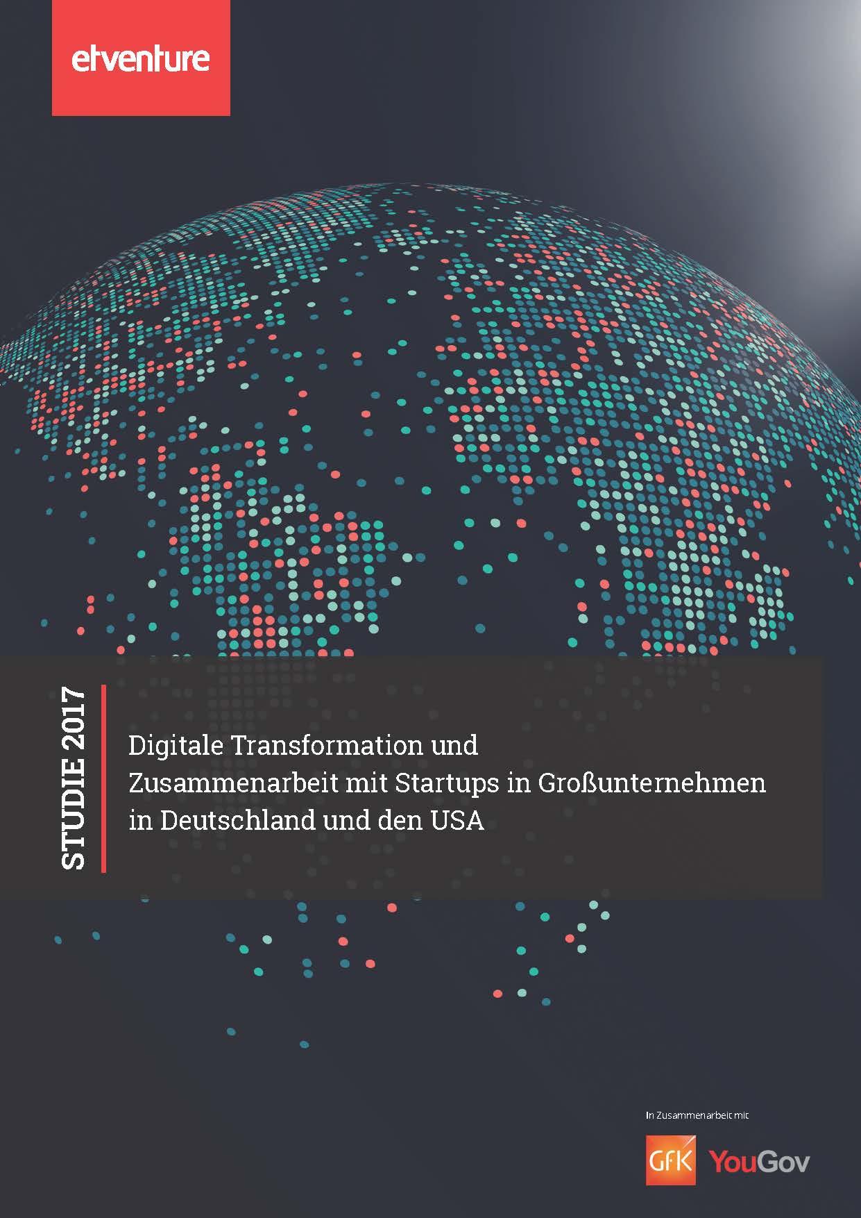 Digitale Transformation und Zusammenarbeit mit Startups in Großunternehmen in Deutschland und den USA