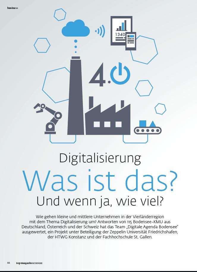 Digitalisierung - Was ist das? Und wenn ja, wie viel?