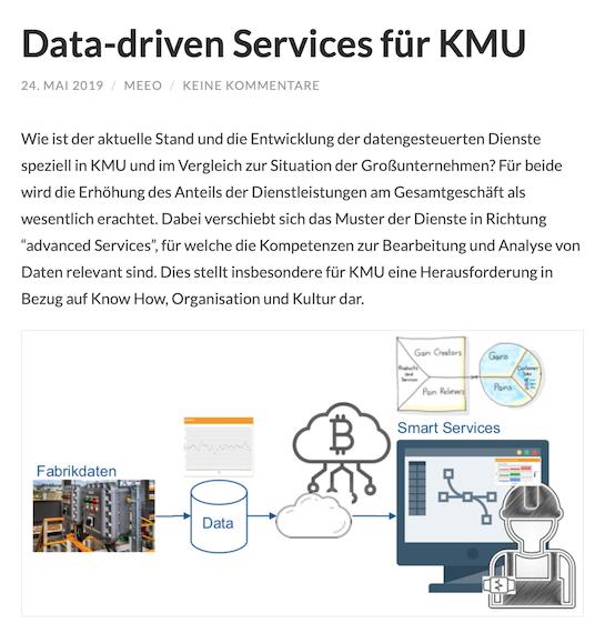 Data-driven Services für KMU