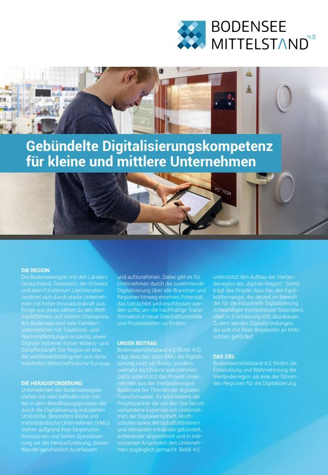 Broschüre BoMi 4.0