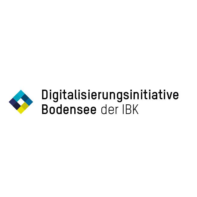 Digitalisierungsinitiative Bodensee der IBK (D/B) - Logo