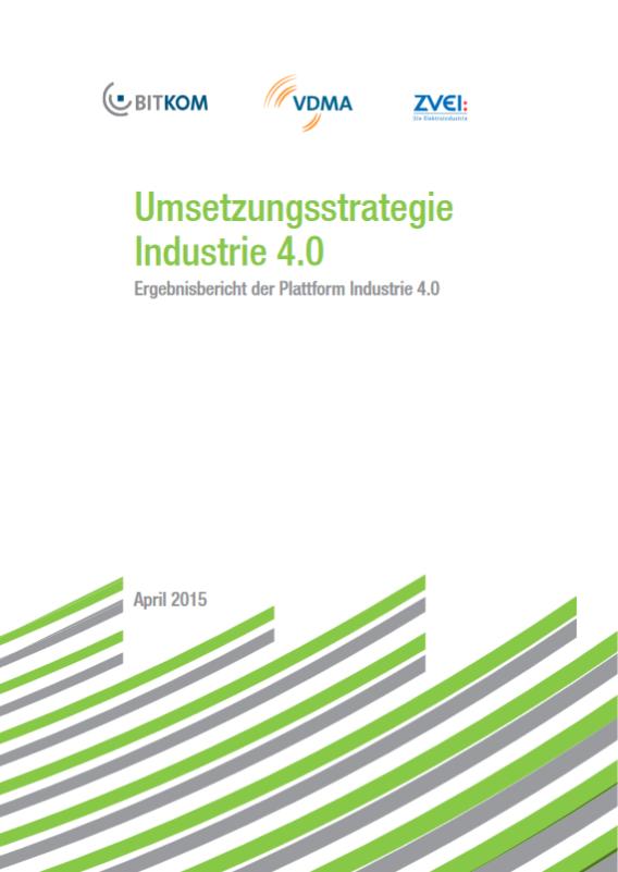 Umsetzungsstrategie Industrie 4.0