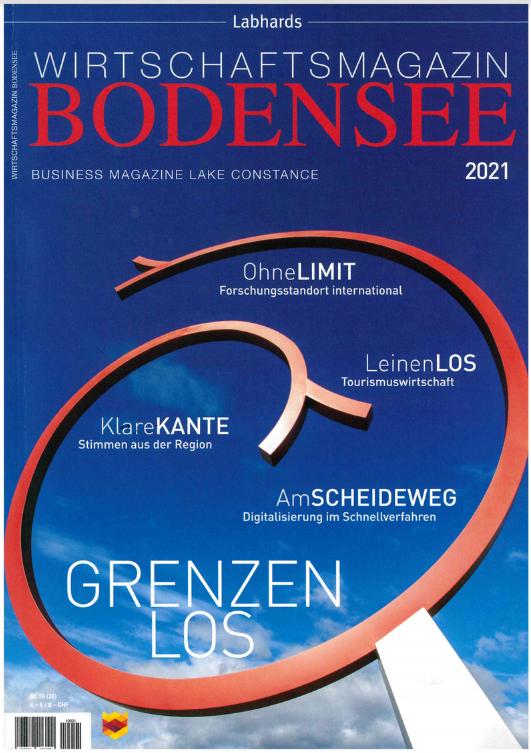 Auszug Wirtschaftsmagazin Bodensee 2021