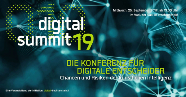 Digital Summit Liechtenstein Banner