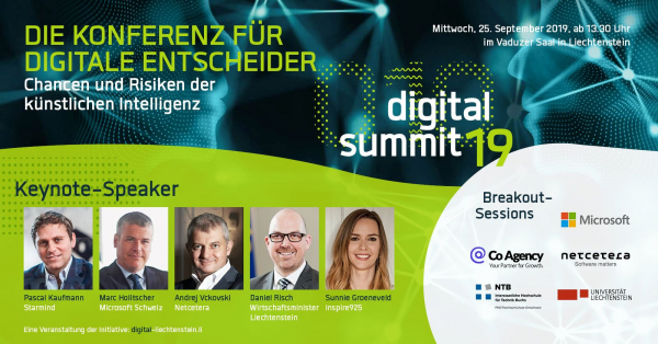 Digital Summit Liechtenstein Keynote