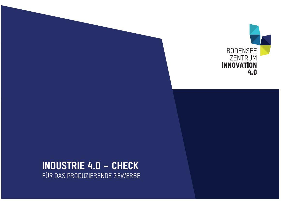 Industrie 4.0 - Check: Für das produzierende Gewerbe
