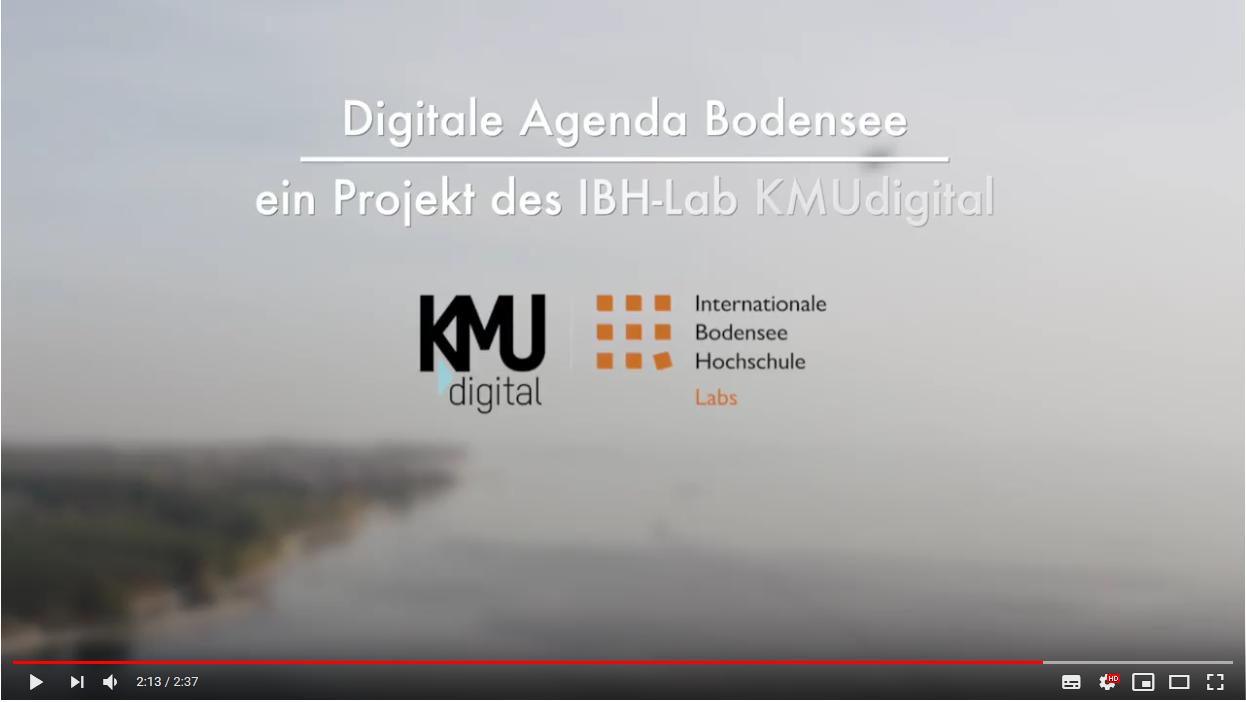 Digitale Agenda Bodensee Videotrailer zum GRÜNBUCH 2018