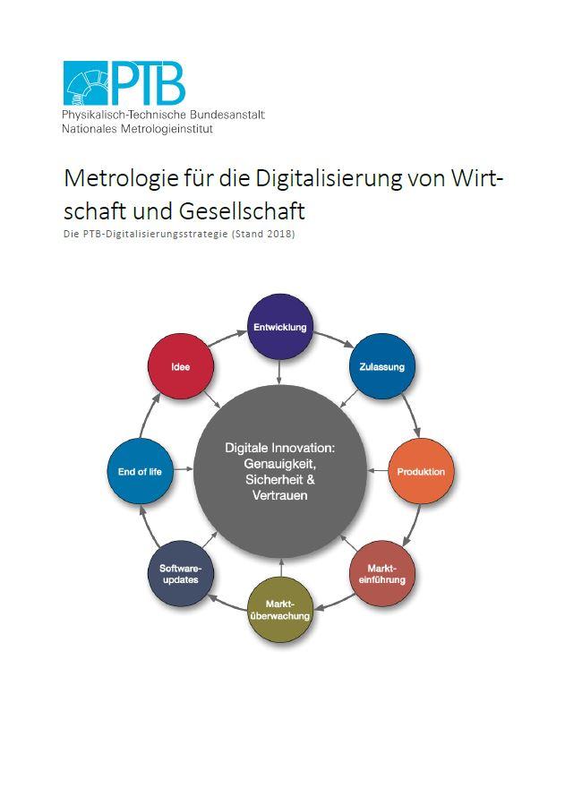 """PTB-Digitalisierungsstudie """"Metrologie für die Digitalisierung von Wirtschaft und Gesellschaft - Update 2018"""""""