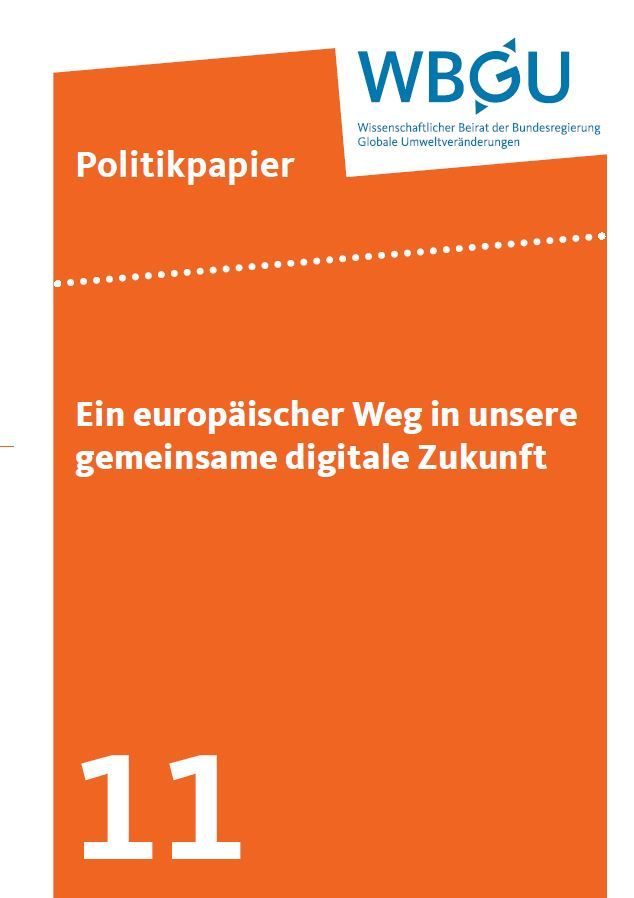 Ein europäischer Weg in unsere gemeinsame digitale Zukunft