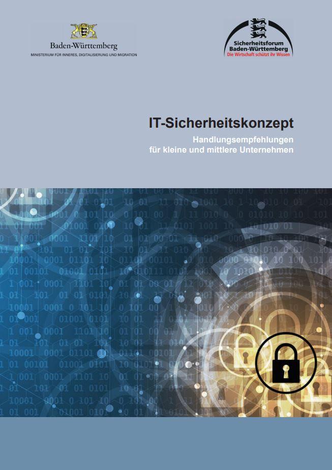 IT-Sicherheitskonzept: Handlungsempfehlungen für kleine und mittlere Unternehmen