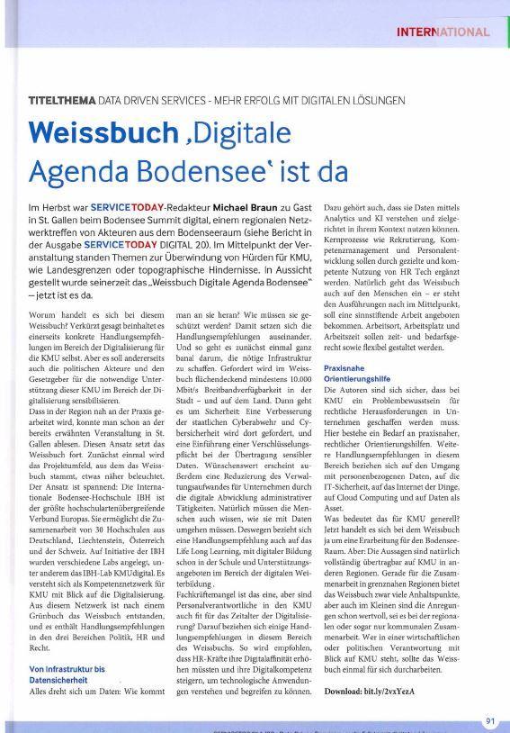"""Weissbuch """"Digitale Agenda Bodensee"""" ist da"""