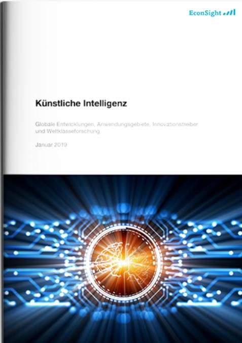 EconSight Kurzstudie zum Thema «künstliche Intelligenz