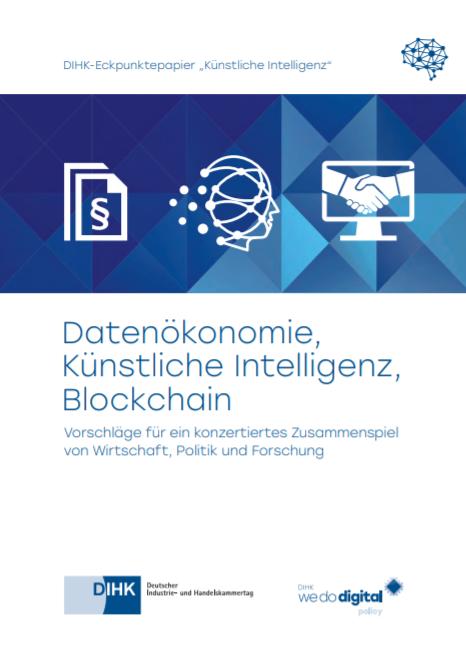 Datenökonomie, Künstliche Intelligenz, Blockchain