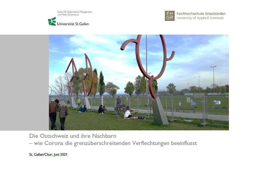 Bericht zur Grenzregion Ostschweiz vor und während der Covid-19-Pandemie