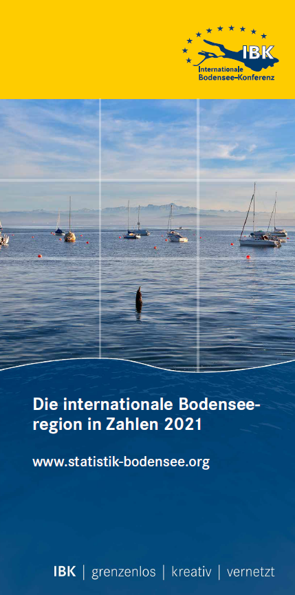IBK-Broschüre: Die internationale Bodenseeregion in Zahlen 2021