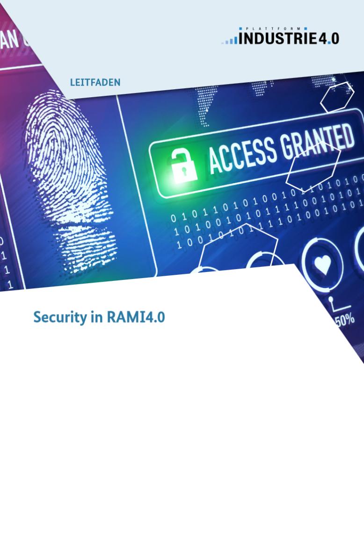 Security in RAMI4.0
