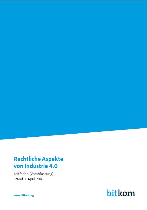 Rechtliche Aspekte von Industrie 4.0