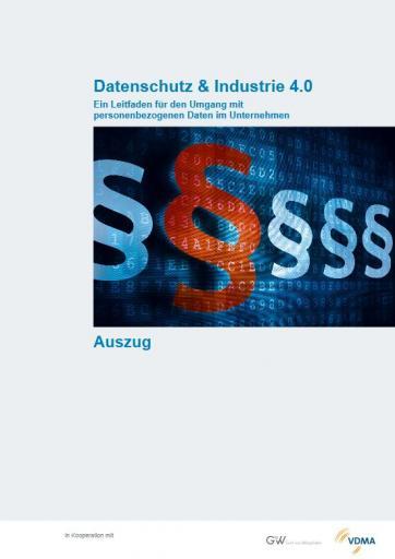 Leitfaden Datenschutz & Industrie 4.0